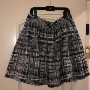 Alice and Olivia tweeed mini skirt!